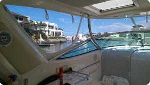 Strata-glass Boat Clears