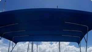 Bimini Top Large Blue