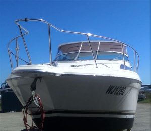 Clears with Bimini Top