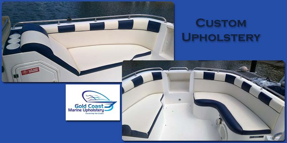 custom boat upholstery seats gold coast marine upholstery