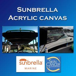 Sunbrella Canvas Colour Selections