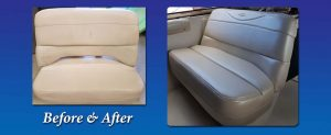 Before After Boat Helm seat