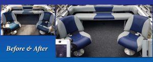 Blue Grey Upholstery