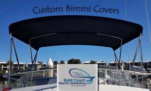 Custom bimini cover