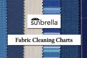 Sunbrella Fabric Cleaning Charts