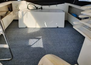 Marine grade carpet grey
